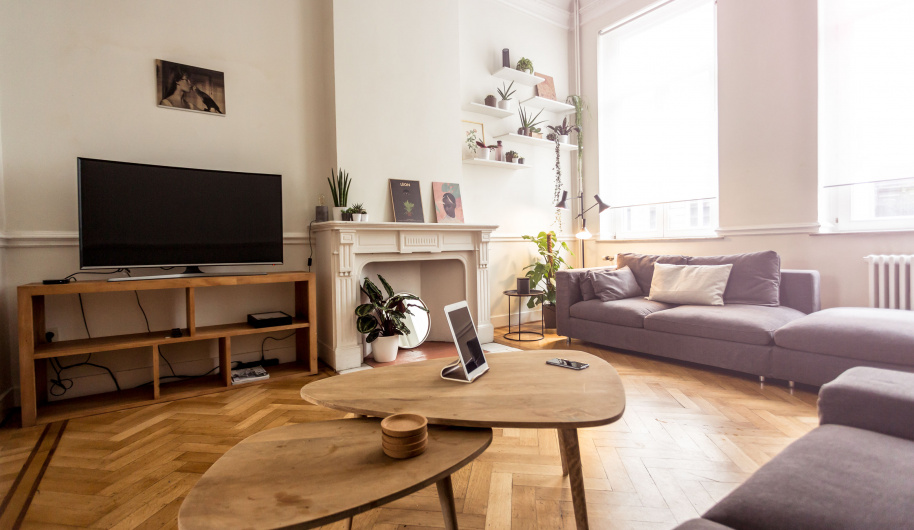 Cohabs Coliving Chatelain Living Room