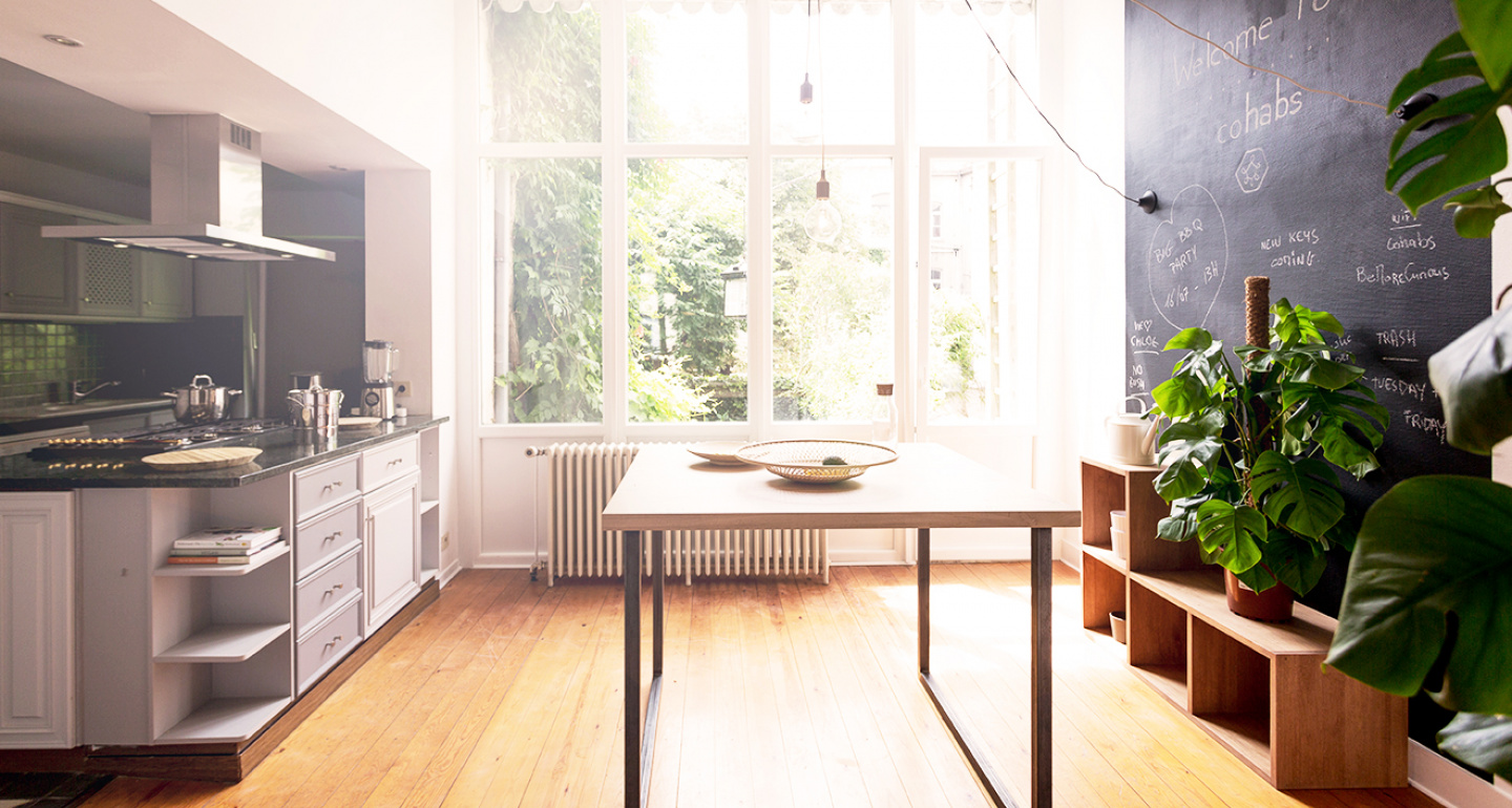 Coliving Space Kitchen